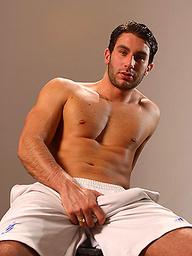 Hot athlete Christian Bishop