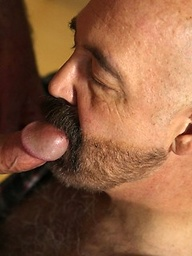 Hairy daddies Gus and Tim Phillips