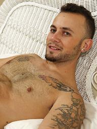 Marcel gets naked