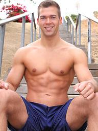 Hot muscle jock Rick