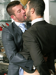 Cum Dine With Me. Starring Kyle King and Dean Monroe