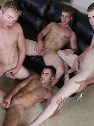 Justin Ryder, Aaron Skyline, Christian Wilde, Dylan McLovin and Marcus Mojo orgy